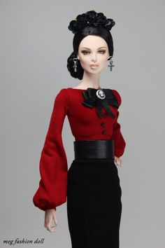 New outfit for Sybarite /Sybarite Gen X/Numina /Kingdom Doll/06 | par meg fashion doll