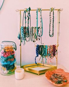 VSCO - faves n repubs ty! Room Organization, Jewelry Organization, Cute Room Decor, Room Goals, Aesthetic Rooms, Cute Jewelry, Jewelry Ideas, Jewelry Accessories, My Room