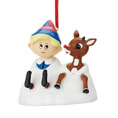 Department 56 Rudolph Christmas Hermey And Rudolph *** Click image for more details.