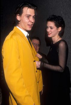 Johnny Depp and Winona Ryder.