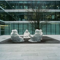 Smiling Buddhas in our Office Zurich :-) Zurich, Offices, Outdoor Decor, Home Decor, Decoration Home, Room Decor, Bureaus, The Office, Corporate Offices