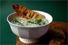 Recipes for Health - Asparagus Soup With Green Garlic and Eggs - NYTimes.com