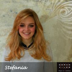 Stefania: luminosa dolcezza in movimento (marzo 2014) - #hair https://www.facebook.com/GoranVilerHairSpa