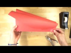 How to make a Simple Paper Kite - YouTube