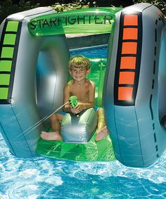 Take a look at this Starfighter Super Squirter Float by Swimline on #zulily today!