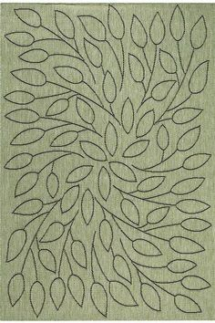 home decorators collection persimmon green and black 5 ft 3 in x 7 ft 6 in area rug 4248620610 at the home depot