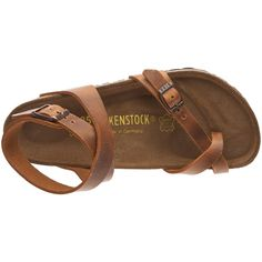9cb47c157d58 I want these freaking Birks Birkenstock Thong   Yara   from Leather in  antique brown with a regular insole