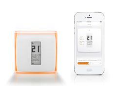 Thermostat controlled using a smartphone by Philippe Starck for #Netatmo