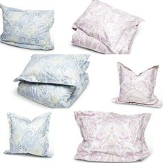 Paisley - every way you look. What we want our beds to look like in spring! from Florence Design Duvet, Bedding, Make Your Bed, Home Collections, Spring 2014, Bed Spreads, Florence, Beds, Bed Pillows