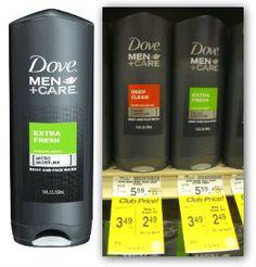 Hot! Moneymaker on Dove Men+Care at Safeway!