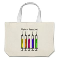 Medical Assistant Tote Bag  http://www.zazzle.com/medical_assistant_tote_bag-149319324493619294?rf=238282136580680600*