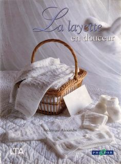 baby layette, Beautiful free patternsattached in french Baby Boy Knitting, Knitting For Kids, Baby Knitting Patterns, Crochet For Kids, Baby Patterns, Knitting Magazine, Crochet Magazine, Knitting Books, Crochet Books