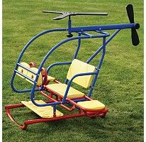 Lifetime® Helicopter Teeter Totter - A Helicopter for the backyard! Yeah