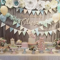 Sweetest backdrop for a 1st Birthday celebrating  This used up all my design talents:  flowers, paper decor, Laser cut signs, and fresh flowers plus balloons! Beautiful desserts by @cakecreamery #dolcelebration #foldable #birthdaycaketopper #birthdayparty #birthday #lasercutsign #lasercut #lasercutting #eventdecor #eventdesign #florist #papercrafts #paperflowers #paperflowerdecor #paperflowerbackdrop #flowers #madeincalifornia #thebleudahlia