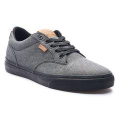 Vans Winston DX Men's Textile Skate Shoes, Black