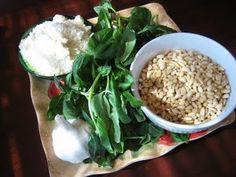 Yummy and easy pesto recipe