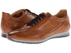 Massimo Matteo Leather Sneaker Brandy - Zappos.com Free Shipping BOTH Ways
