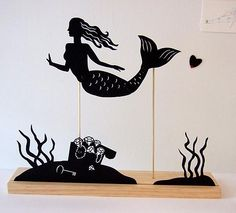 Andrea Everman's shadow puppets - Lost At E Minor: For creative people