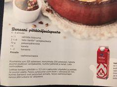 Banaani-pähkinäjoulupuuro. Kotilieden joulu (?).