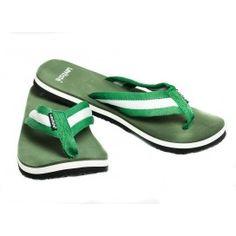 Levitate Men's Slippers   olive  White