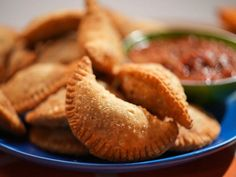 Mexican Food Recipes, Snack Recipes, The Kitchen Food Network, Empanadas Recipe, Ground Meat, Unsalted Butter, Food Network Recipes, Apple Pie, Roast
