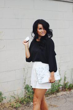 Working Girl Style #marlblephonecase #blogger #summerfashion #brunette #choker