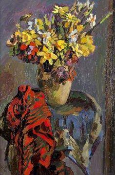 """""""Daffodils"""", Duncan Grant, 1931."""