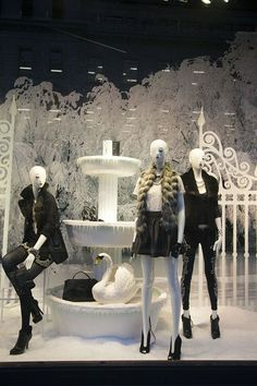 Guess ~Christmas Window Display 2013