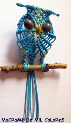tutorial buho macrame paso a paso (video? ~ artemanual