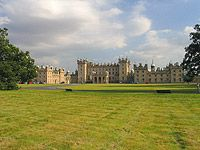 Photograph of Floors Castle from the castle grounds, Kelso, Scottish Borders.