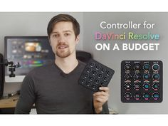 If you are tired as I was to see the small range of different controllers for DaVinci Resolve color grading software and how they all require an investment up to thousands of Dollars, I think you are going to like this.Combining the power of DJ hardware, MIDI message software and some clever program