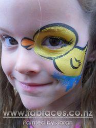 12 En Iyi Kolay Yuz Boyama Görüntüsü Face Paintings Painted Faces