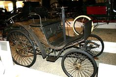 1894 Benz Velo Benz Velo is acknowledged by many historians to be the world's first production car. Water-cooled, horizontal, 1-cylinder, 1.5 horsepower engine, 682 pounds, $880 original price