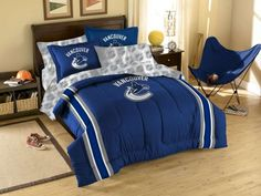 Vancouver Canucks NHL Bed in a Bag by The Northwest - NHL Bed in a Bag - Polyester $99.95