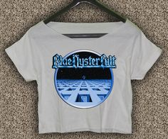 New+Blue+Oyster+Cult+Album+T-shirt+Blue+Oyster+Cult+Crop+Top+Blue+Oyster+Cult+Crop+Tee+BOC#02