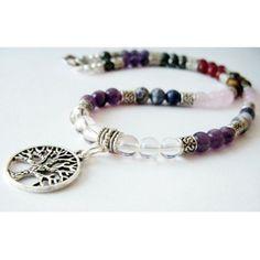7 Chakra Necklace - Tree of Life