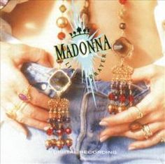 Madonna Like A Prayer on Limited Edition LP Limited 180 gram vinyl LP reissue of this 1989 album from the award-winning, multi-platinum selling, trend Whitney Houston, Vinyl Lp, Vinyl Records, Bruce Springsteen, Van Halen, Lps, Madonna Like A Prayer, Madonna Albums, Madonna Music