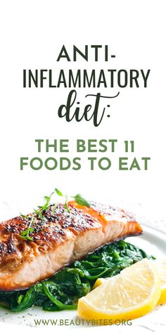 11 Best Anti-Inflammatory Foods On The Planet - Beauty Bites Best Diet Foods, Good Foods To Eat, Healthy Foods To Eat, Low Fat Diets, No Carb Diets, Healthy Diet Plans, Healthy Eating, Eating Clean, Healthy Detox