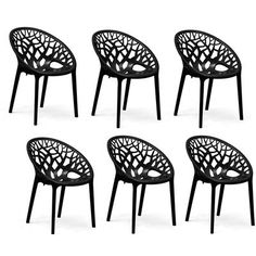 Buy Nilkamal Premium PP Chairs Set of 6 (Black) By HOMEGENIC by undefined, on Paytm, Price: Rs.15380?utm_medium=pintrest