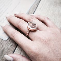 Wearing my @mimoneda_uk_ireland ring out today ❤️ thank you @rshimmenpr