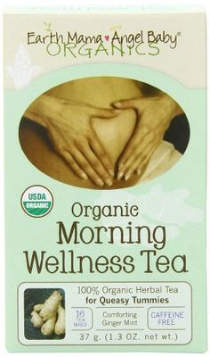 Earth Mama Angel Baby Organic Morning Wellness Tea, 16 Teabags/Box  (Pack of 3) - http://goodvibeorganics.com/earth-mama-angel-baby-organic-morning-wellness-tea-16-teabagsbox-pack-of-3/
