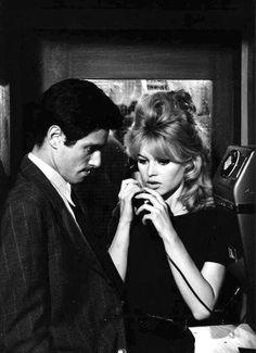 Sami Frey & Brigitte Bardot