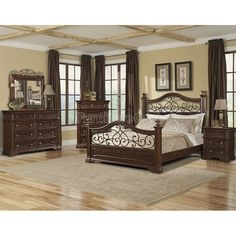 San Marcos Panel Bedroom Set Klaussner | Furniture Cart