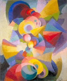Stanton Macdonald-Wright, Conception Syncromy, 1914