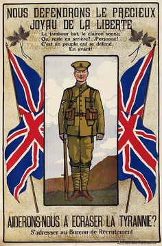 Canadian Culture | Canadian First World War, Enlistment & Propaganda Posters - Canada at ...