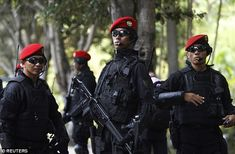 Kopassus, who perform joint counter-terrorism drills with the Australian SAS, are notoriou...