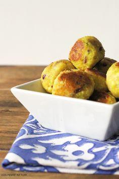 Penne im Topf: Malai Koftas - Indische Kartoffel-Bällchen