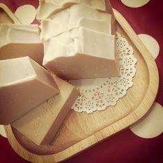Handmade breastmilk soap