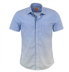 Boss Orange Blue Eslimye Shirt Boss Orange, Men Casual, Menswear, Mens Tops, Blue, Shirts, Clothes, Shopping, Women