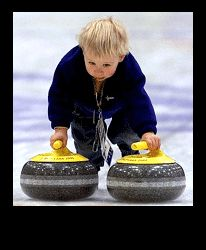 Starting at a real young age. Sport Events, Olympic Sports, Winter Olympics, Curling, Rocks, Youth, Guy, Sporty, Wedding Ideas